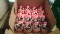 Minnie Mouse cupcaks