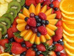 Fruit carving, fruit display supplier uk