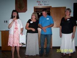 Linda, Sherry Seward Gomis, Ron Gomis and Joan