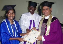 POROUR CONVOCATION OF AUGP, DEGREES CONFERRED BY Dr.MADHU KRISHAN
