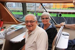 Howard and Mary Margaret on canal cruise