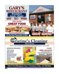 GARY'S RESTAURANT / CRISTINE'S CLEANING