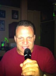 Mike D. bringing his smooth style of singing to 502 Bar Lounge's Social Saturday Karaoke Night!