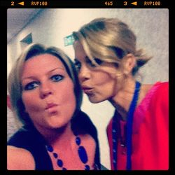Kisses from two of your favorites!