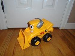 Toy State Caterpillar Construction Job Site Tractor - $12