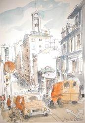 BREST rue des Remparts