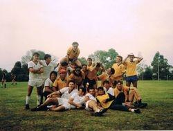 Newcastle University Varsity Team Melbourne 1989
