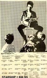 1981-09 Starship, Milwaukee, WI