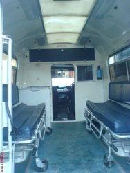 1970s Ambulance interior