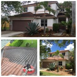 Roof Cleaning Weston FL.