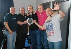 Gary Brooks Masters Plate Winners - Well Posh
