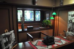 Office, Frank Lloyd Wright Home & Studio, Oak Park