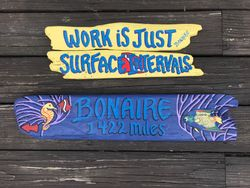 Tropical Vacation Signs