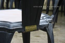 #24/259 Belgian Fibrocit chairs