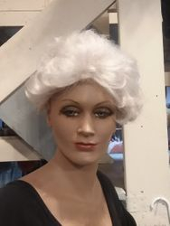 Mrs. Clause white wig