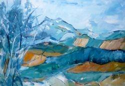 Berge in der Provence