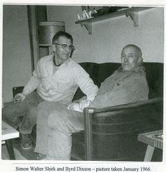 Simon Walter Shirk and Byrd Dixson