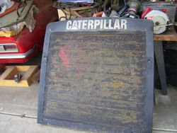 "Early ""C"" Model Grille."