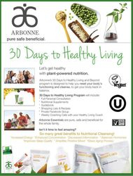 Arbonne 30 Days to Healthy Living Program