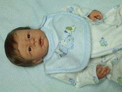 Sweet baby Cody, a custom baby