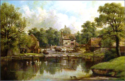 Woodlands Farm, Handsworth. c1857.