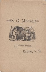 S. G. Morse of Exeter, New Hampshire