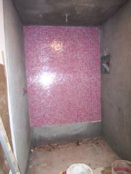 Floated shower stall & ceiling