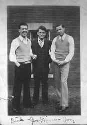 Dick Loudon, Joe Pierce, Tom Loudon