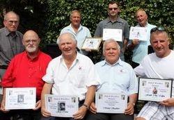 Group awards shot
