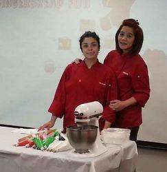 Milette and Pastry Cherf Vonita Cruz
