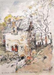 La FORET LANDERNEAU Le Vieux Moulin