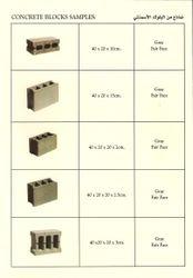 Concrete Blocks Samples