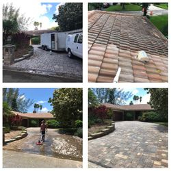 Roof and Driveway Cleaning