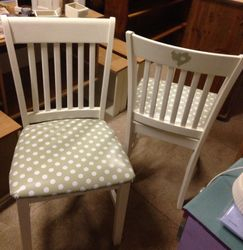 Revamped chairs.