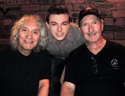Daniel with Albert Lee and James Burton