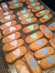Bandaid Cookies for Doc McStuffins Theme