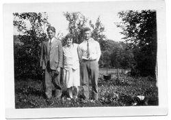 Chalmer Emanuel Norris, Ina M. (Garner) Ritchey, Paul Wilmer Heck