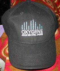 Oxygene Tour 2008 Cap