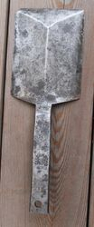 Metaline mentele didelei skardai. Kaina 13