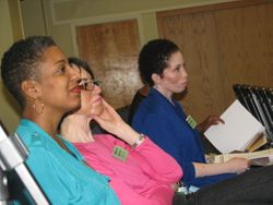Session observing Jennifer (DC) Shirley (MA) and Millie (CT)
