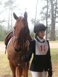Theo & his girl Lizzy at Pony Club Show Jumping Rally