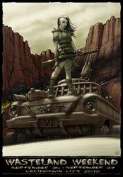 2015 Wasteland Weekend poster art