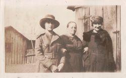 Kate, Mrs. Blatt, and Ann