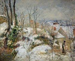 Pissarro, Rabbit Warren atPontoise, Chicago