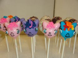 $4.50 each pony cake pops