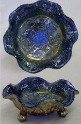 Panther sauce ftd bowl in blue, silvery
