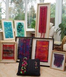 A textile selection