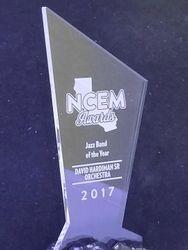 DR. DAVID HARDIMAN AWRDED BEST JAZZ BAND FOR NCEM 2017
