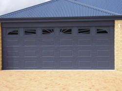 Stanford Deep Ocean Sectional Door with 6 set Sunrise Windows