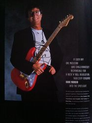 Program signed by Hank Marvin